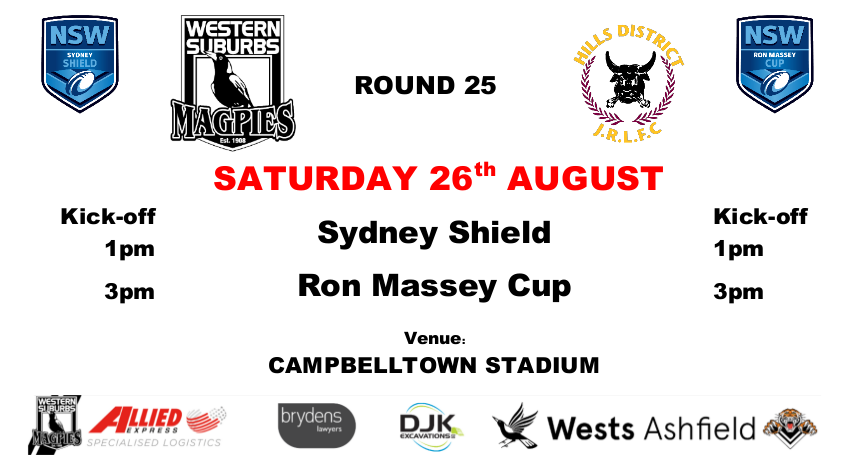 Round 25 - Wests v Hills District