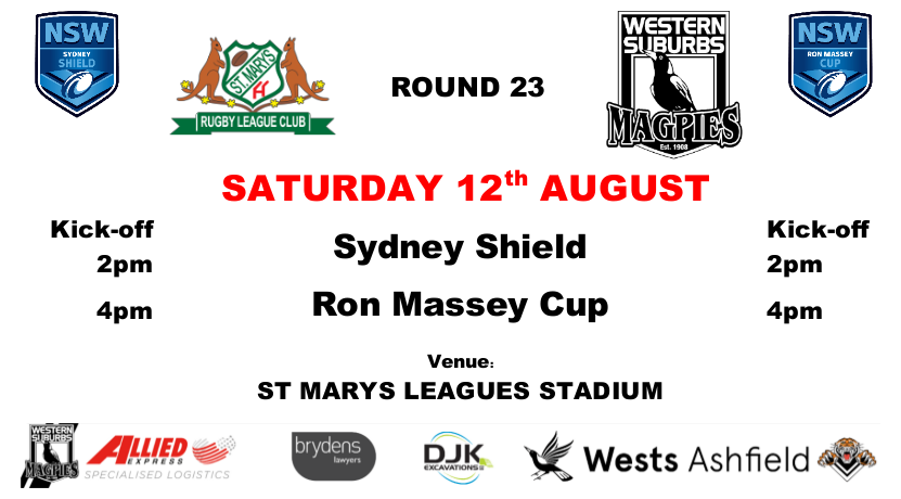 Round 23 - Wests v St Marys