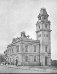 Ashfield Town Hall in 1908
