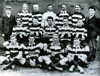 1908 Western Suburbs Magpies team photo