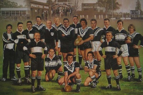 Western Suburbs Magpies Team of the Century