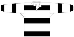 1914 Western Suburbs Magpies Jersey