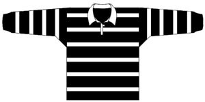 1917 Western Suburbs Magpies Jersey