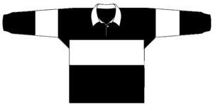 1926 Western Suburbs Magpies Jersey