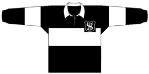 1929 Western Suburbs Magpies Jersey