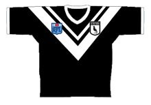 1985 Western Suburbs Magpies Jersey