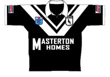 1992 Western Suburbs Magpies Jersey