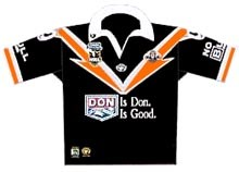 2001 Wests Tigers Jersey