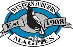 1998 Western Suburbs Magpies Logo