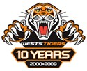 2010 Wests Tigers Logo