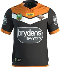 2017 Wests Tigers Jersey
