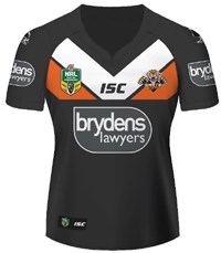 2016 Wests Tigers Jersey